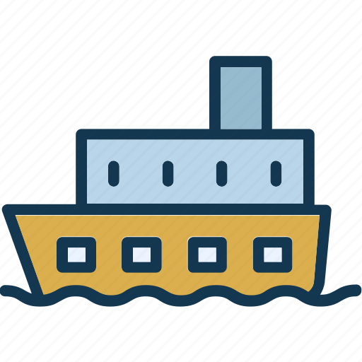 boat, journey, sail, sailboat icon