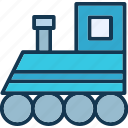 coal engine, engine, locomotive, steam train icon