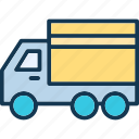 delivery van, transport, transportation, van icon
