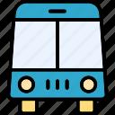 autobus, bus, coach, omnibus icon