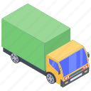 automobile, cargo truck, conveyance, lorry, transport, vehicle, wagon icon