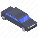 automobile, car, conveyance, limousine, luxury car, transport, vehicle icon