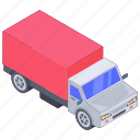 automobile, conveyance, logistics transport truck, lorry, transport, vehicle icon