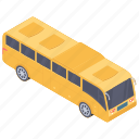automobile, city bus, coach, conveyance, local bus, transport, vehicle icon