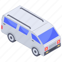 automobile, conveyance, mini bus, mini coach, mini transport coach, transport, vehicle icon
