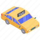 automobile, cab, car, local car, taxi, transport, vehicle icon