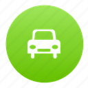 auto, automobile, car, green, transport, vehicle icon