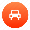 auto, automobile, car, red, transport, vehicle icon