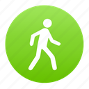 human, jog, person, run, walk icon