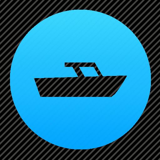 boat, ocean, sea, ship, travel, water, yacht icon