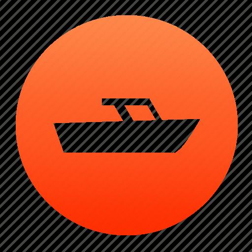 boat, ocean, sea, ship, water, yacht icon