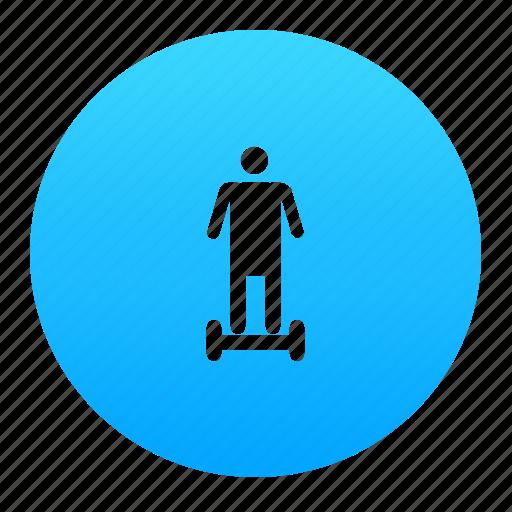 board, hover, hoverboard, segway icon