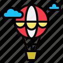 air, balloon, flight, hot, transport