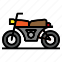 bike, cycle, motor, motorcycle, transport icon