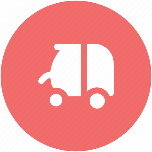 auto, motorcycle rickshaw, rickshaw, transport, travel icon