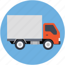 delivery, logistic truck, lorry, shipping, truck