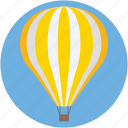airplay, hot air balloon, parachute, sky diving, travel icon