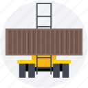cargo container, delivery, sea freight, shipping, warehouse icon
