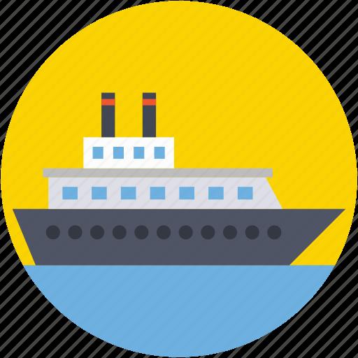 cargo ship, sailing vessel, shipment, shipping, shipping cruise icon