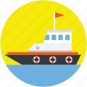 cargo ship, sailing vessel, shipment, shipping, shipping cruise icon