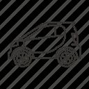 auto, mini car, road, smart, transport, transportation, vehicle