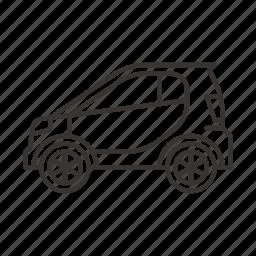 auto, mini car, road, smart, transport, transportation, vehicle icon