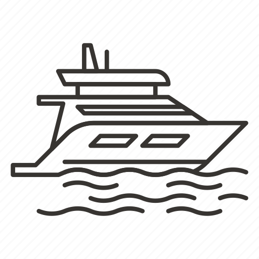 boat, sailing, ship, vessel, yacht icon
