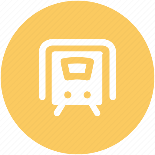 auto, locomotive, subway, train, tram, tramway, transport, vehicle icon