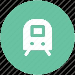 auto, locomotive, subway, tramway, transport, vehicle icon