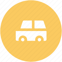 delivery, minibus, public van, transport, van, vehicle icon