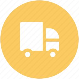 construction van, delivery, delivery car, logistics, truck, van, vehicle icon