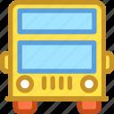 bus, double decker, london bus, transport, traveling icon