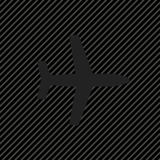 aeroplan, air, airplane, airport, flight, plane icon