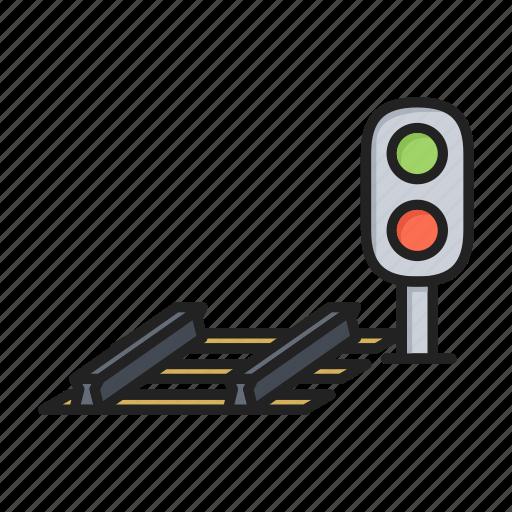 lights, railway, semaphore, traffic icon