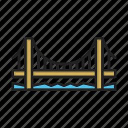 bridge, build icon