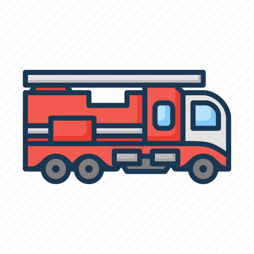 fire, fire engine, fire transport, fire truck, firefighting, truck icon