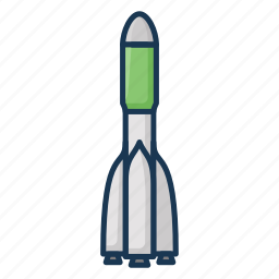 cosmos, rocket, soyuz, space icon