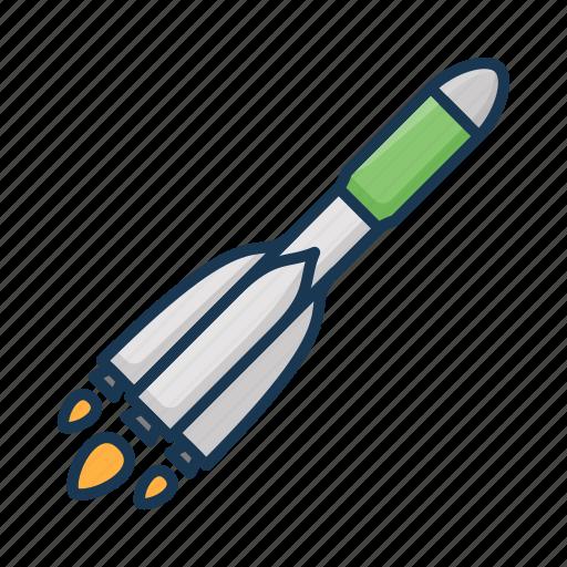 cosmos, rocket, soyuz, space icon