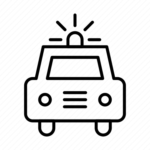 car, flasher, transport, transportation, travel, vehicle icon