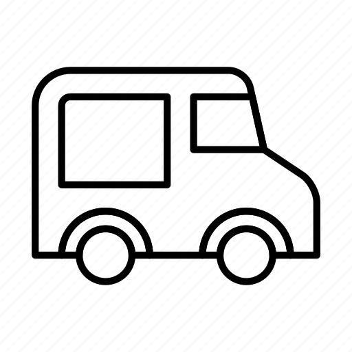 car, transport, transportation, travel, van, vehicle icon