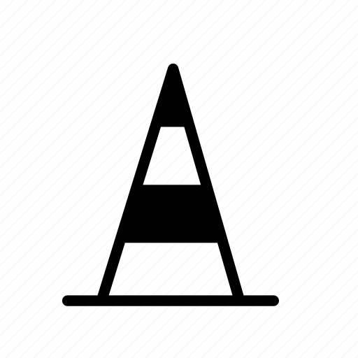 cone, road, traffic, traffic cone, transport, vehicle icon