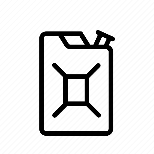 canister, gasoline, gasoline canister, jerrycan, transport, vehicle icon