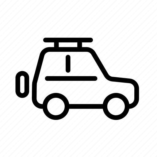 car, offroad, suv, transport, vehicle icon