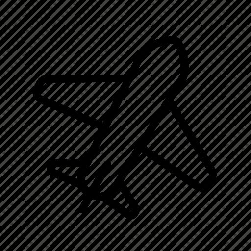 airplane, flight, plane, transport, vehicle icon