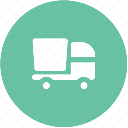 concrete, delivery truck, shipping, truck, vehicle icon