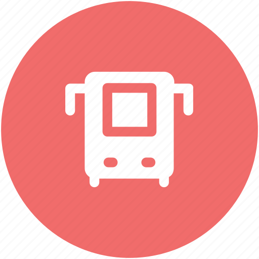 bus, public bus, public transport, public vehicle, tour bus, transport, vehicle icon