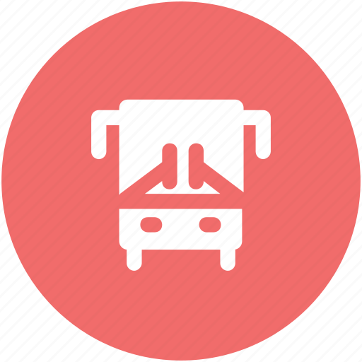 bus, public bus, public transport, public vehicle, tour, tour bus, transport icon