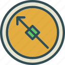 arrow, compass, direction, navigation icon