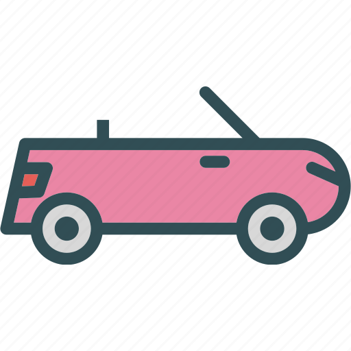 car, convertible, transport, travel, vehicle icon
