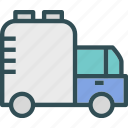 army, artilery, transportation, truck, war, watertank, weapon icon